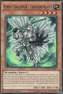 Heroic Challenger - Thousand Blades   Yu-Gi-Oh!   FANDOM ...  Yugioh
