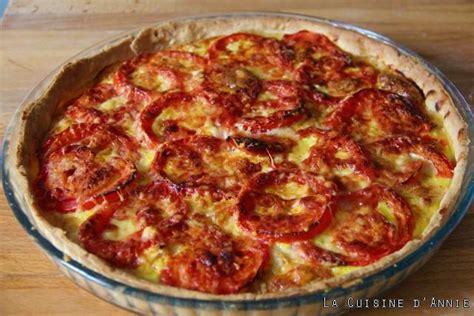 de recette de cuisine familiale recette quiche au thon la cuisine familiale un plat