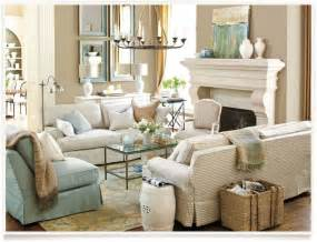 Living Room Decorating Ideas Pottery Barn
