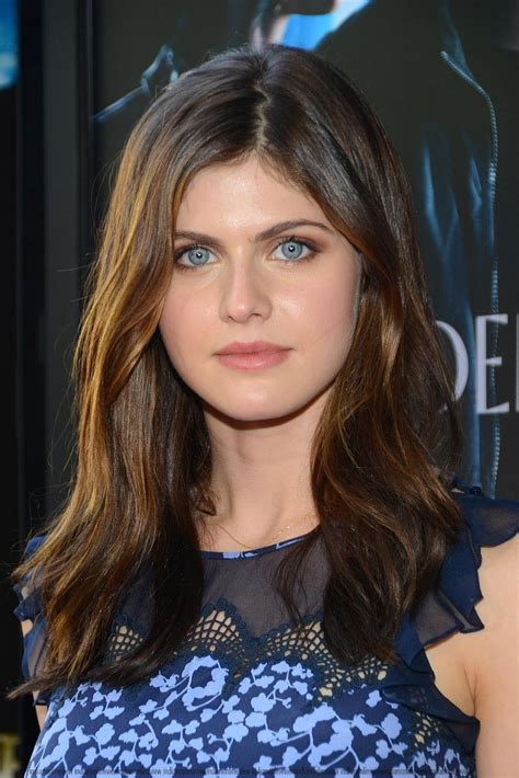 Alexandra Daddario At The Percy Jackson Premiere High