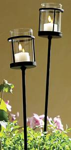 Outdoor, Votive, Candle, Stakes, Great, For, The, Garden