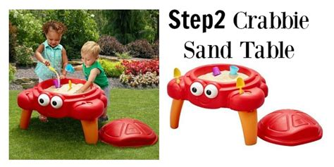 step 2 crabbie sand table kohl s step2 crabbie sand table as low as 25 shipped