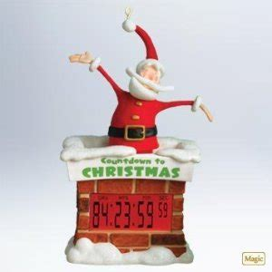 amazon com countdown to christmas hallmark 2011 clock