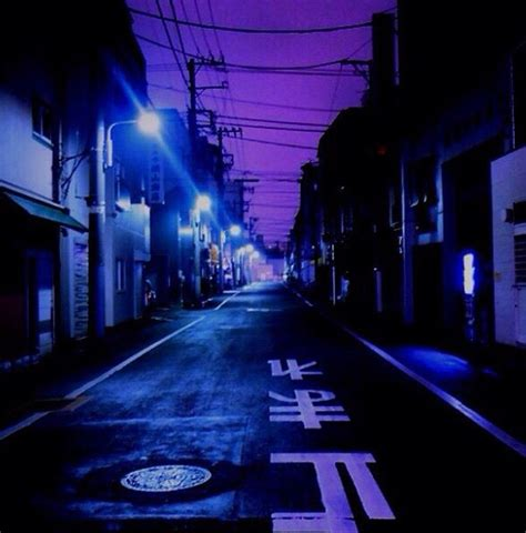 abandoned blue city city lights collection edgy glow