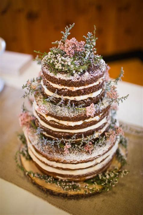 totally rustic wedding cakes  present  variety