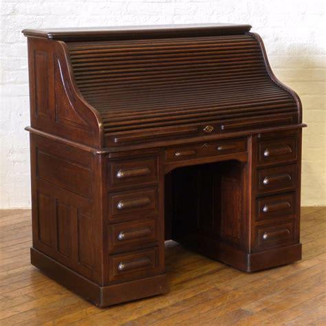 antique oak roll top desk edwardian oak roll top desk loveantiques com