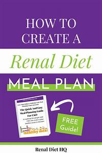 The 4 Step Quick And Easy Meal Planning Guide For Ckd