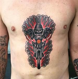 50 Cool Biker Tattoos Ideas for Men and Women (2018 ...