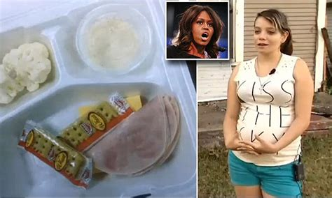 photo  michelle obama school lunch provokes parents