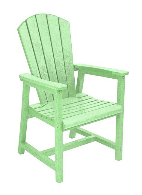 generations lime green adirondack dining arm chair from cr