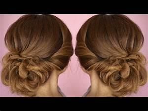 3 Minute Elegant SIDE BUN Hairstyle ★ EASY Summer Updo HAIRSTYLES VidoEmo Emotional Video Unity