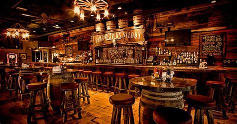restaurant bar design ideas cowboy decor cowboy jacks bar and restaurant minnesota Rustic