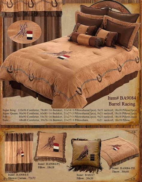 28 best barrel racing comforter set cowhide cross