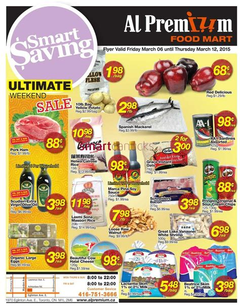 premium cuisines al premium food mart flyer march 6 to 12