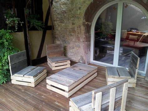 canap es 60 beautiful salon de jardin palette tuto contemporary