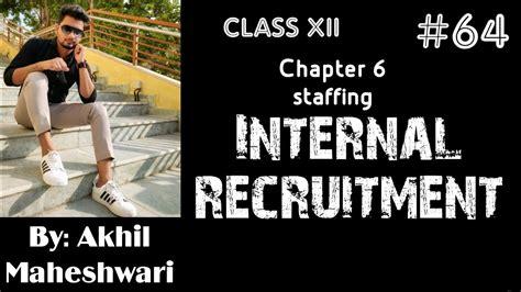 internal recruitment meaning  methods pg