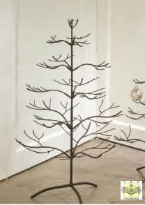 ornament trees brown 36 quot ornament trees ornament stands and hooks