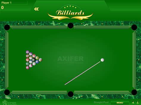 billiards game