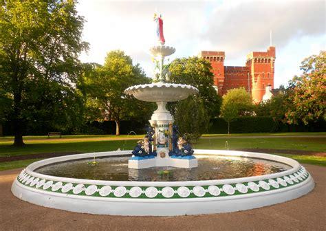 praise vivary parks newly restored fountain