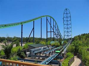Kingda Ka - Six Flags Record-Breaking Coaster