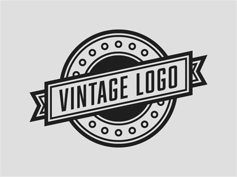 logo template vintage logo template rainbowlogos