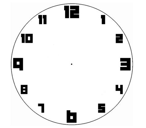 blank clock clipart png clipground