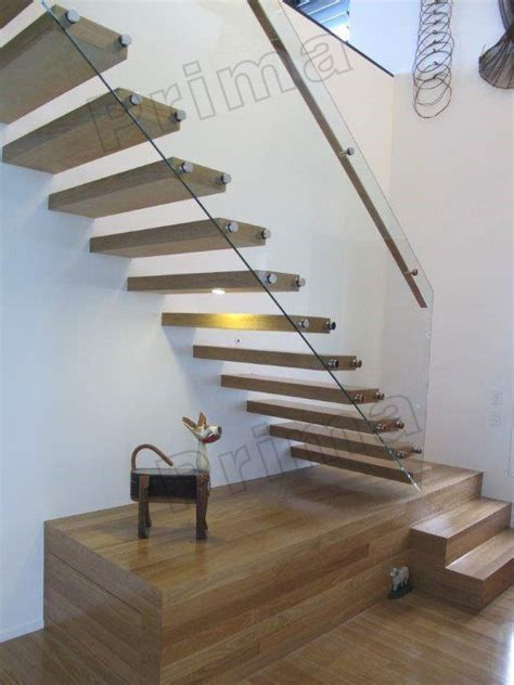 House Design L Shape Steel Beam / Cantilever Stair   Buy