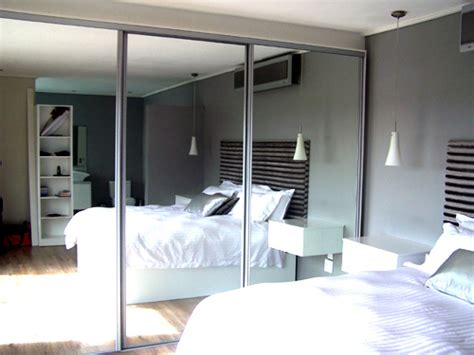 bedroom cupboards with mirror sliding doors