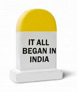 Happily Unmarried Yellow and White Ceramic India It All
