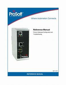 Prolinx Reference Guide