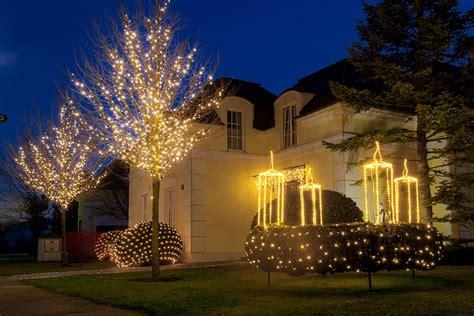Weihnachtsdekoration Beleuchtet Außen by Beleuchtung Weihnachtsdekoration Lichter Plantas