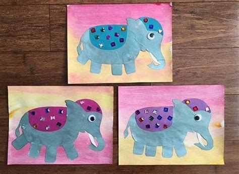 20 best elephant crafts for preschool images on 386 | dc3a0a2e223a15b675c9657aefc6f57e elephant crafts preschool