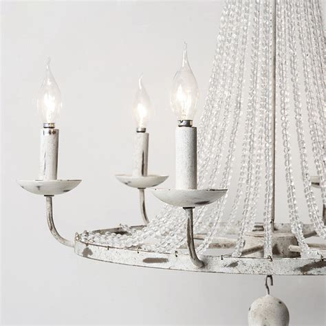 strands for chandeliers chandelier candle style lighting bead strands