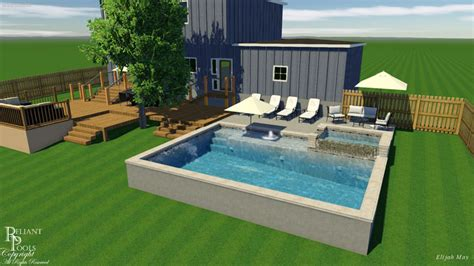 Design By Price-reliant Pools Austin's Custom Pool