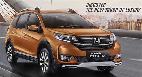 Honda Brv 2019 Picture by 2019 Honda Br V Facelift Officially Revealed