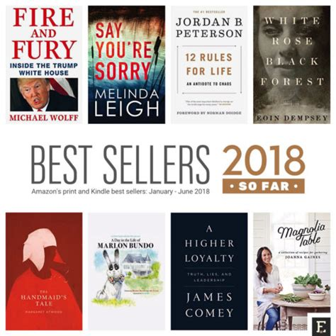Best Sellers Books Amazon S Best Selling Print And Kindle Books Of 2018 So Far