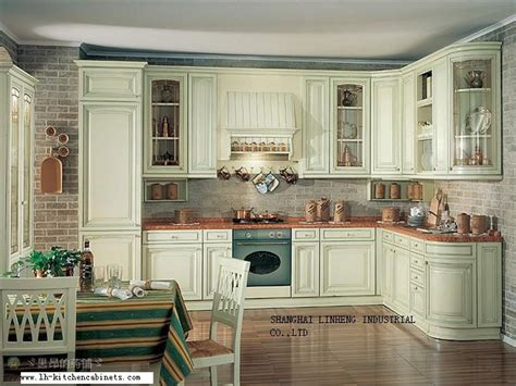 european style kitchen cabinets solid wood european style kitchen cabinet lh sw022 on