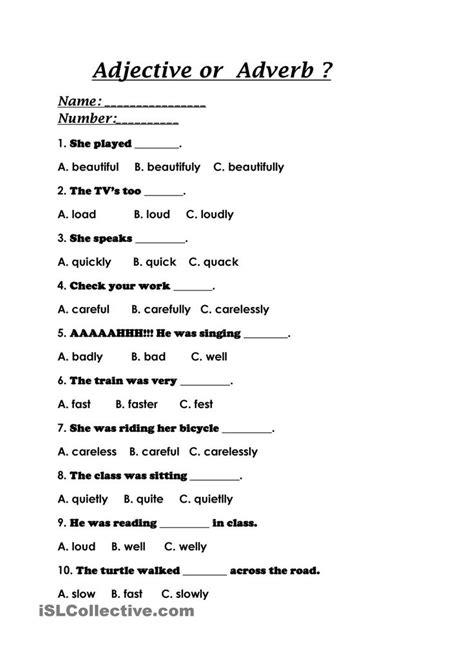 adjective or adverb alcides ara 250 z adverbs