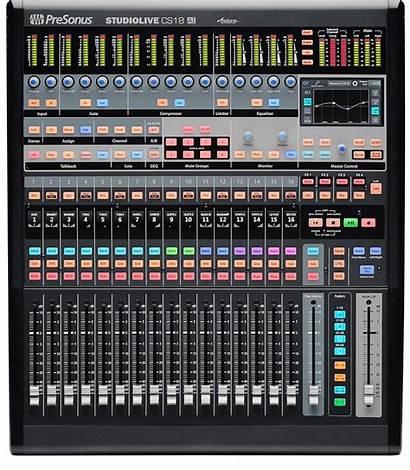 Presonus Studiolive Control Studio Surface Faders Motorised