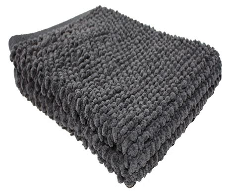 home fashions dark gray popcorn bath rug cotton bath mats rugs bath whats