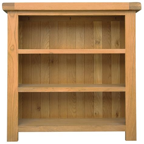 Small Office Bookcase by Clifford Solid Oak Furniture Small Office 3 Shelf Bookcase