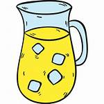 Lemonade Svg Icon Pitcher Drink Summertime Refreshment