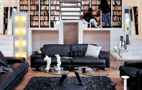 Schwarze Mobel by Schwarzes Wohnzimmer Design Ideen