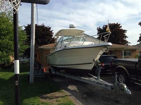 Pursuit Boats 2870 Wa by 1996 Used Pursuit 2870 Wa Lkaround Fishing Boat For Sale