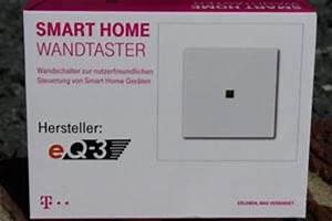 Telekom Smart Home Geräte : funk wandtaster funk wandschalter f r telekom smart home ~ Yasmunasinghe.com Haus und Dekorationen