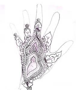 Henna Mehndi Design Drawings