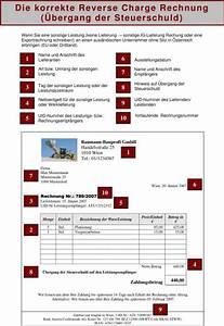 Reverse Charge Rechnung Muster : eu umsatzsteuer neue pflichten bei der rechnungserstellung zwischen eu mitgliedsstaaten ~ Themetempest.com Abrechnung
