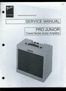 copy fender pro junior tweed series guitar amplifier parts
