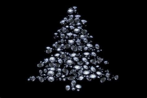 brillante 225 rbol de navidad en fondo negro 47730