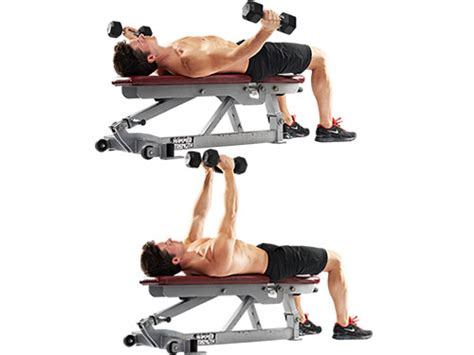 Pec Deck Fly With Dumbbells by Build More Burn More Get More With